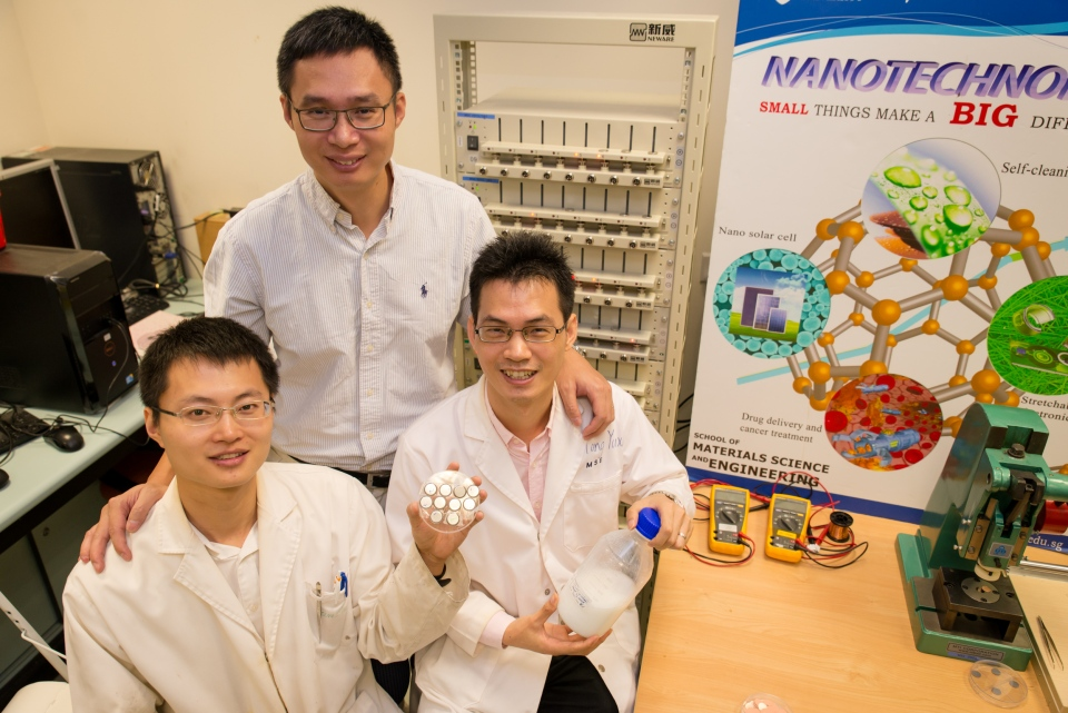 Super-fast charging battery developed at NTU