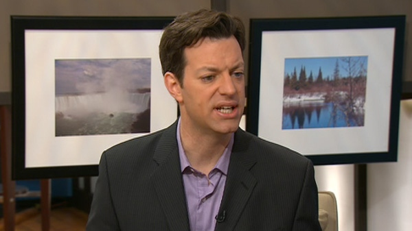 Loren Christie appears on Canada AM, Friday, March 2, 2012.