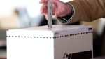 A person casts a ballot in this file photo. (Chris Young / THE CANADIAN PRESS)