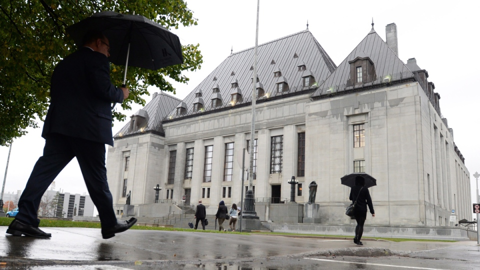 The Supreme Court of Canada building in Ottawa on Oct. 15, 2014. (Sean Kilpatrick / THE CANADIAN PRESS)