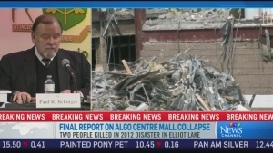 CTV News Channel: 'Human failure' caused collapse