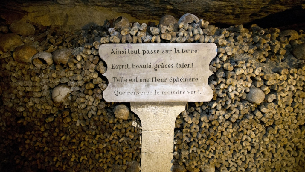 Catacombs in Paris to be opened for Halloween
