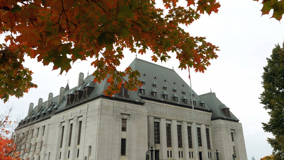 The Supreme Court of Canada in Ottawa on Wednesday, Oct. 15, 2014. (Sean Kilpatrick / THE CANADIAN PRESS)