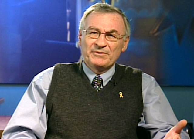 Jim Davis, father of Cpl. Paul Davis who was killed in Afghanistan in 2006, speaks to Canada AM from CTV studios in Halifax on Thursday, Sept. 11, 2008.