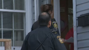 Officers have been going door to door, offering people tips on how to keep themselves and their homes safe.