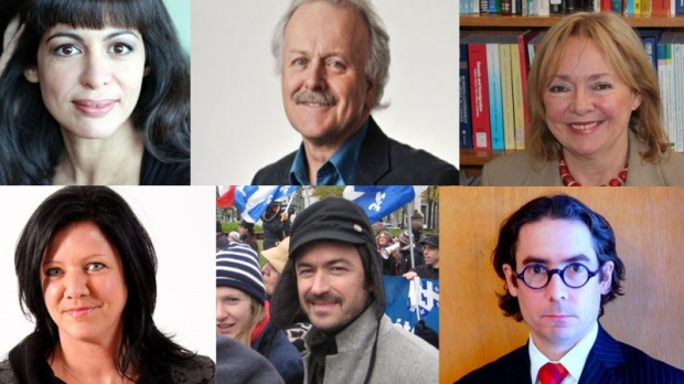 The Estates General on Quebec Sovereignty will be led by, (clockwise from top left) Tania Kontoyanni, Renaud Lapierre, Michelle Bussieres,Danic Parenteau, S�bastien Ricard and Am�lie Dionne, among others.
