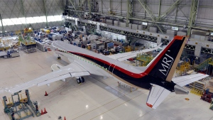 Mitsubishi's new regional jet MRJ