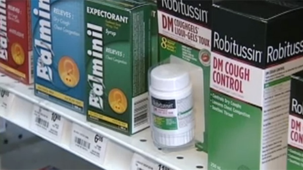 Medication like NyQuil and Robitussin can soothe a nasty cough, but a recent coroners report suggests they can be lethal too. (CTV Montreal)