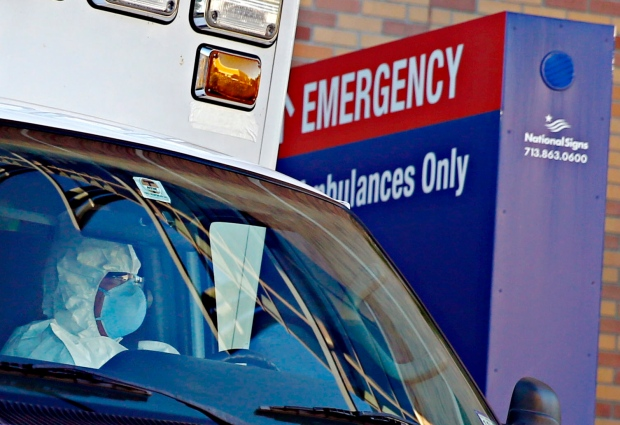 Nurse moved from Dalls hospital
