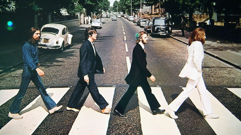 Abbey Road Album Cover Theory