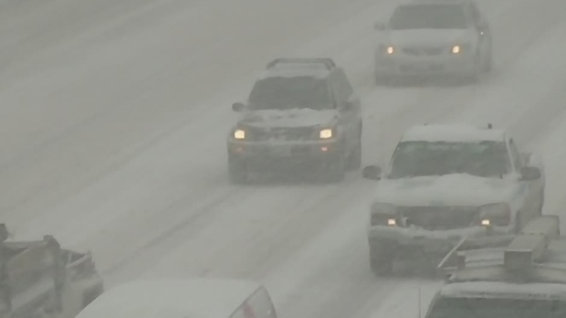 Snow plow hit in Chatham-Kent, transport truck driver charged