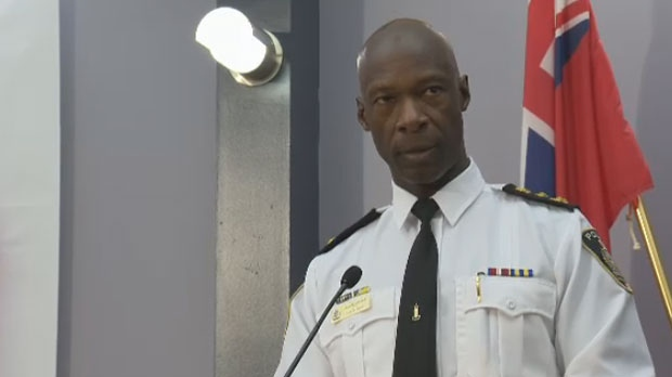 Assiniboine Community College announced Friday that former Winnipeg Police Chief Devon Clunis will be presented with an honourary diploma at the graduation in October 2020.