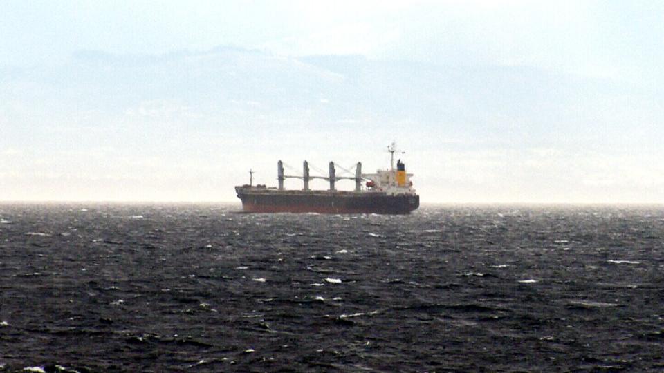 Russian container ship adrift off B.C. coast