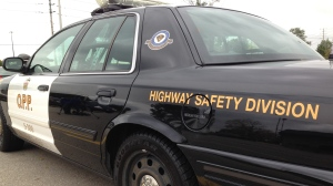An OPP highway safety division cruiser shown on October 17, 2014.