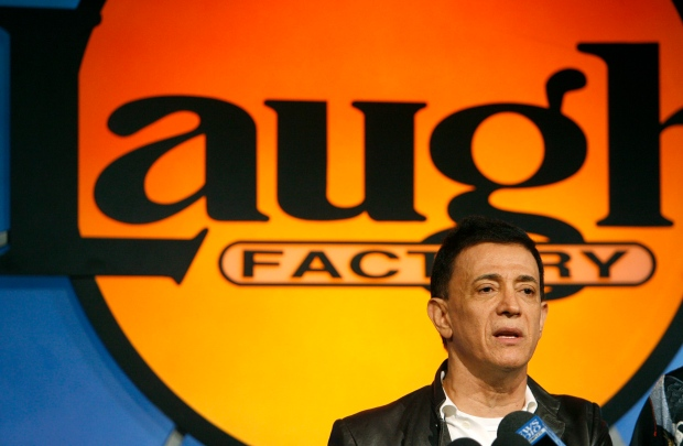 Jamie Masada, owner and CEO of the Laugh Factory