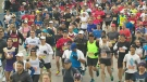 CTV Toronto: Thousands hit pavement at marathon
