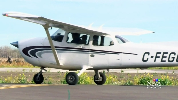 CTV Edmonton: Special attention for flying club