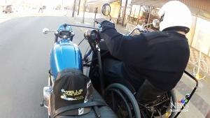 CTV Edmonton: Despite amputation biker rides again
