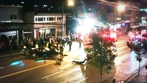 CTV Vancouver: Several injured in night of carnage
