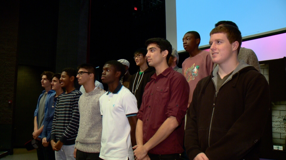 These young men were inspired by a speech by Glen Canning, the father of Retaeh Parsons.