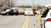 Two Canadian soldiers were hurt after being struck in a hit-and-run in Quebec on Monday, Oct. 20, 2014.