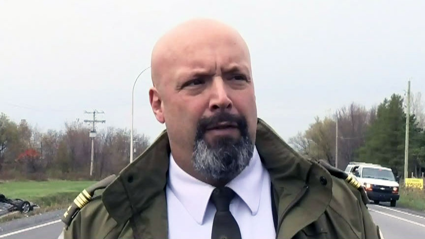 A Quebec provincial police official says one of the soldiers and the suspect involved in a hit-and-run in Saint-Jean-Sur-Richelieu, Que. are in critical condition on Monday, Oct. 20, 2014.