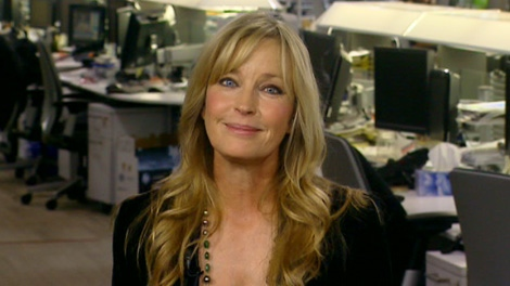 Actress turned animal advocate Bo Derek appears on Canada AM, Wednesday, March 7, 2012.