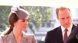 CTV News Channel: Duchess debuts baby bump