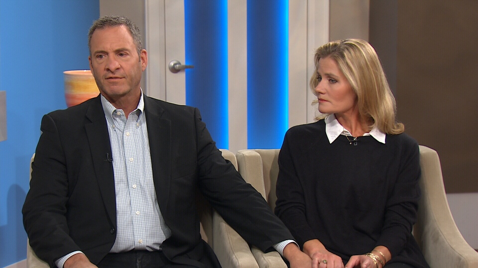 Clint and Joanie Malarchuk speak to CTV's Canada AM on Tuesday, Oct. 21, 2014.