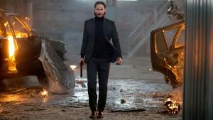 Keanu Reeves as John Wick movie review
