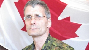 Warrant Officer Patrice Vincent, 53, died as a result of his injuries after a hit-and-run incident in St-Jean-sur-Richelieu, Que. on Monday, Oct. 20, 2014. (Department of National Defence)