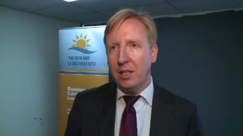 New Brunswick New Democrat leader Dominic Cardy