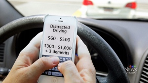 CTV Ottawa: $1,000 fine for texting and driving