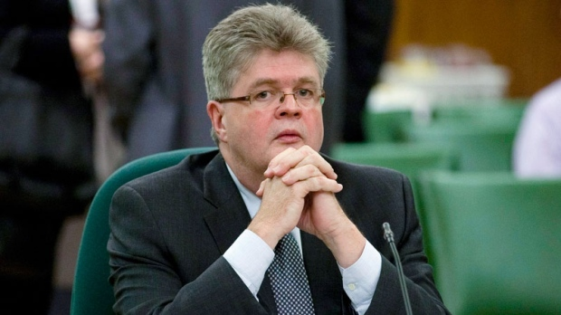 Canada's public sector integrity commissioner Mario Dion is shown on Parliament Hill. (Adrian Wyld / THE CANADIAN PRESS)