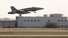 CF-18 takes off to join fight against militants