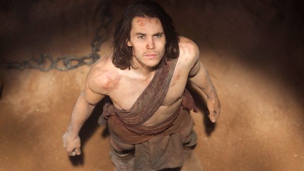 Taylor Kitsch is shown in a scene from Disney's 'John Carter.'