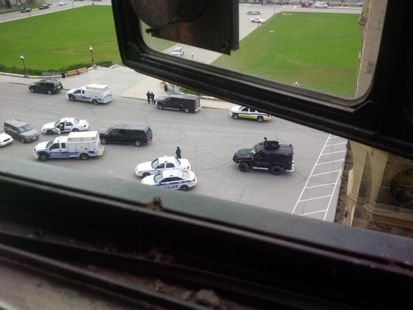 Ottawa shooting Gerry Byrne