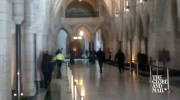Bullets fly inside hallways of Parliament Hill