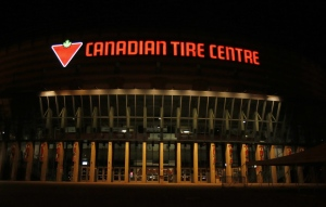 The Canadian Tire Centre, home to the Ottawa Senators, is seen on Monday, September 9, 2013. (Canadian Tire Corporation, Ltd.)
