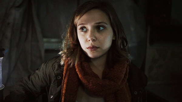 Elizabeth Olsen is shown in a scene from Entertainment One's 'Silent House.'