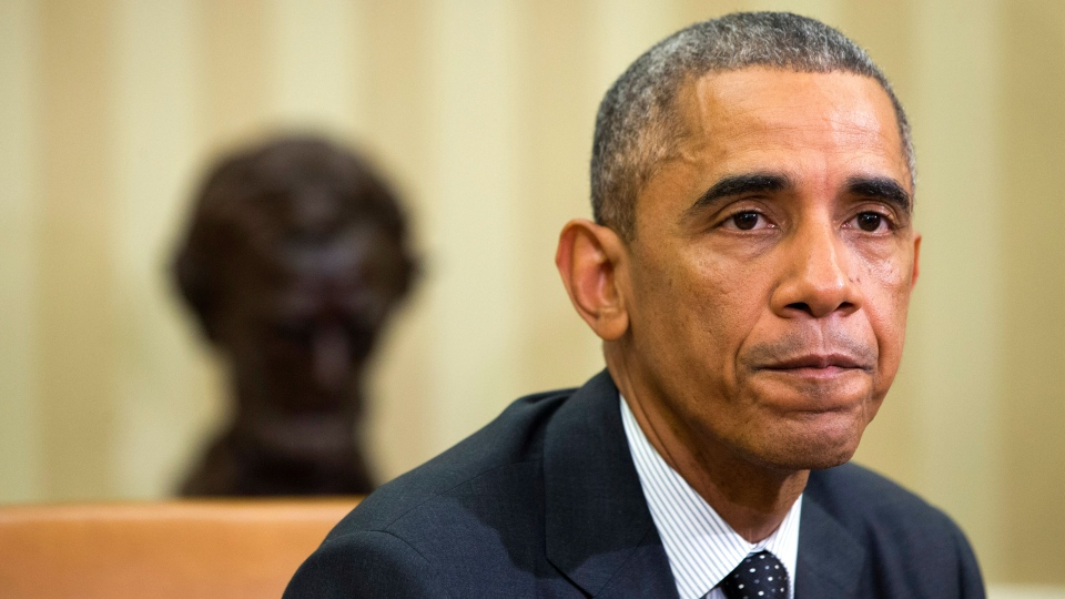 Obama pledges solidarity with Canada