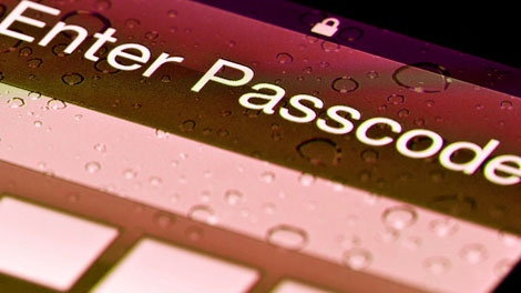 cell phone security, password protect