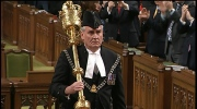Sergeant-at-arms Kevin Vickers honoured