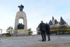 National War Memorial vigil