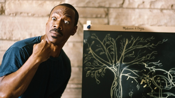 Eddie Murphy is shown in a scene from Paramount's 'A Thousand Words.'