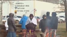 Jenpeg hydro protest