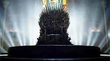 The iron throne of 'Game of Thrones'