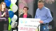 CTV Edmonton: Edmonton couple wins $30M