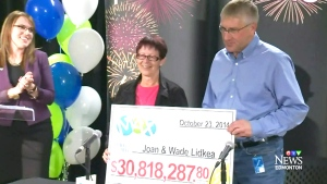CTV Edmonton: Edmonton couple wins $30M