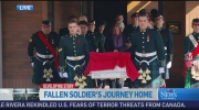 CTV Ottawa: Ceremonial sendoff for Cpl. Cirillo